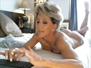 Anal Masturbation Cougar Sexy Mature anal
